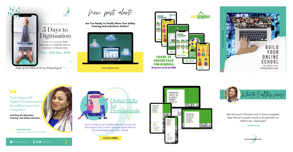 canva design by ike
